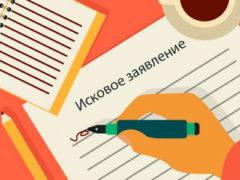 Инструкция по порядку подачи искового заявления