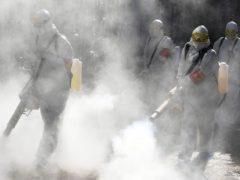 Химические атаки в транспорте в Москве